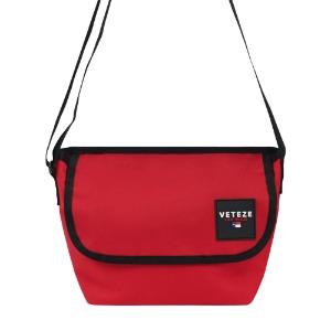 [VETEZE] Retro Mini Cross Bag (red)