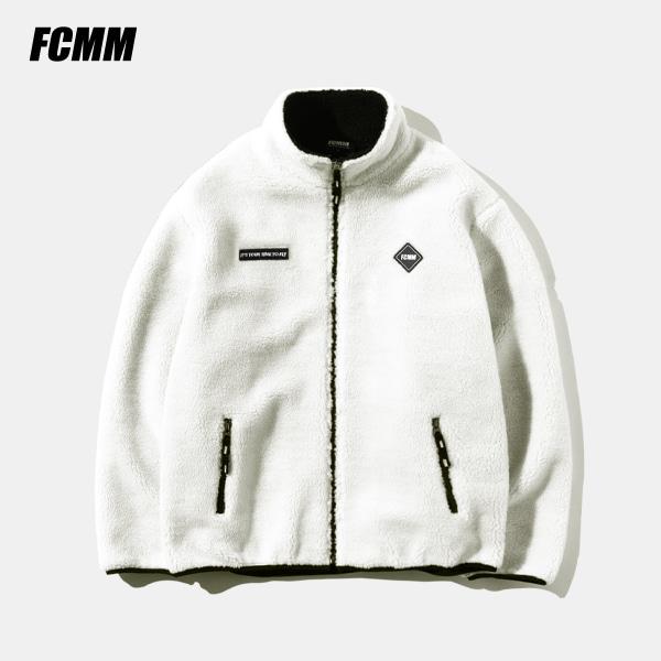 [FCMM] 네셔널팀 레플리카 덤블 플리스 집업 자켓 - 아이보리