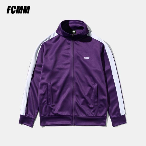 [쿠치샵 창고대방출][FCMM] 라인 트랙 탑 - 퍼플