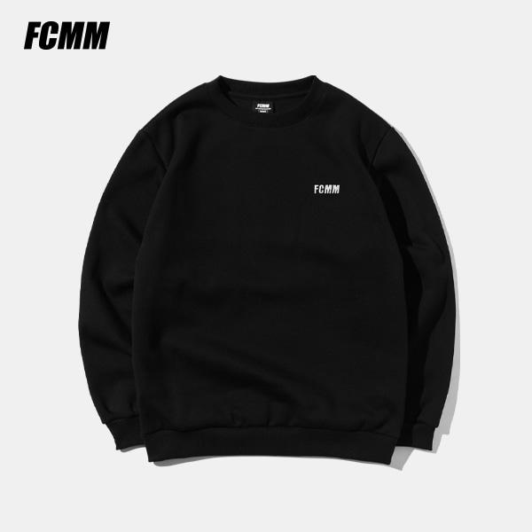[FCMM] 클럽 에센셜 맨투맨 - 블랙