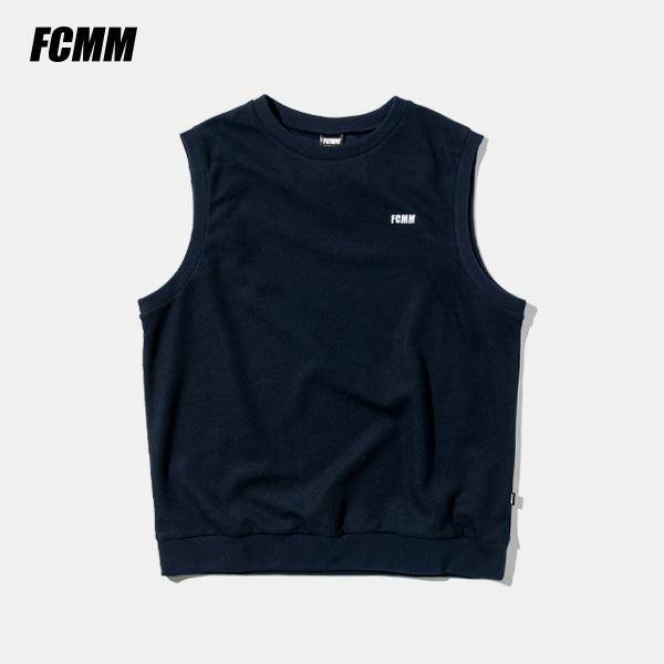 [FCMM] 클럽 니트 베스트 - 네이비