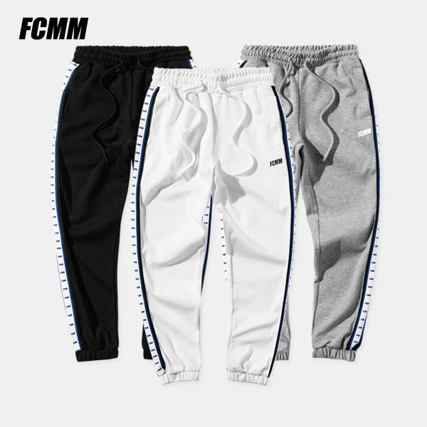 [FCMM] 로고 테이프 조거팬츠