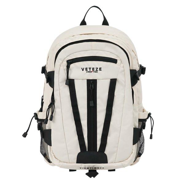 [VETEZE] Multi Cross Backpack (ivory)