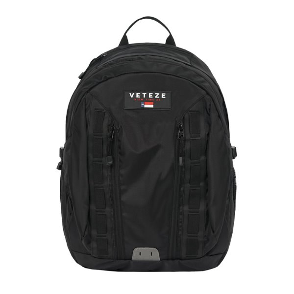 [VETEZE] Double Youth Backpack (black)