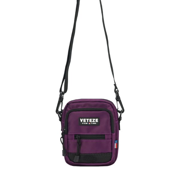 [VETEZE] Util Cross Bag (purple)