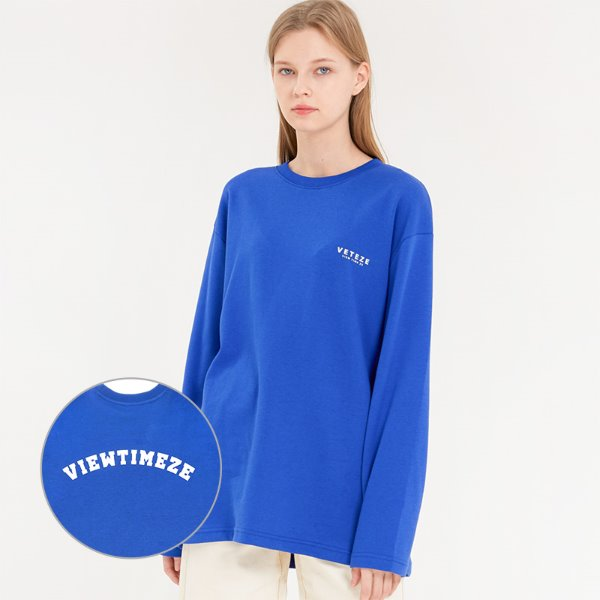 [VETEZE] Arch Logo Sleeve (blue)