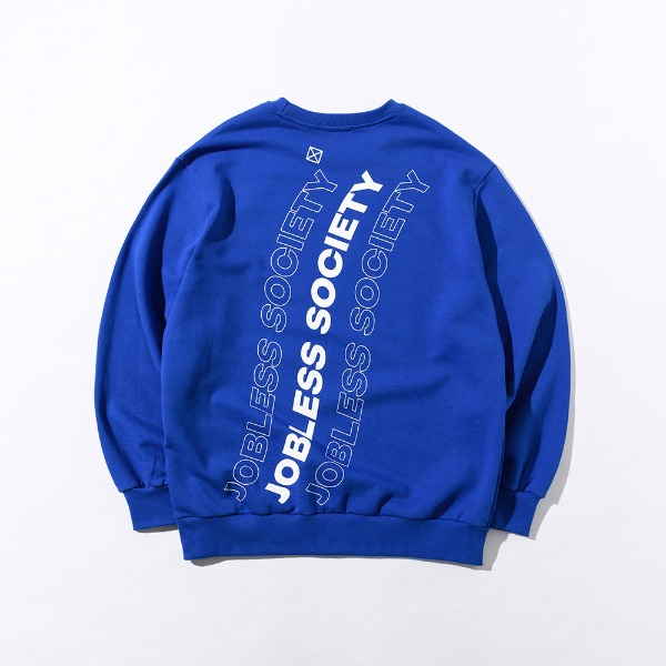 [잡리스 소사이어티] SOCIETY REAR FILL SWEATSHIRTS (Blue)