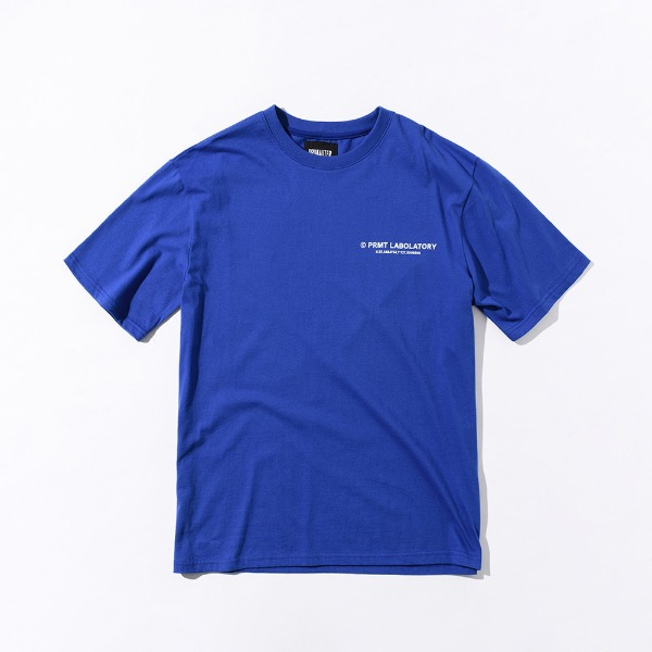 [프리마우터] PM LOGO ½ Tee (Blue)