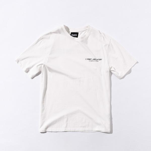 [프리마우터] PM LOGO ½ Tee (White)