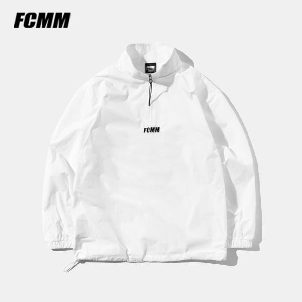 [FCMM] 클럽 하프집 윈드브레이커 - 화이트