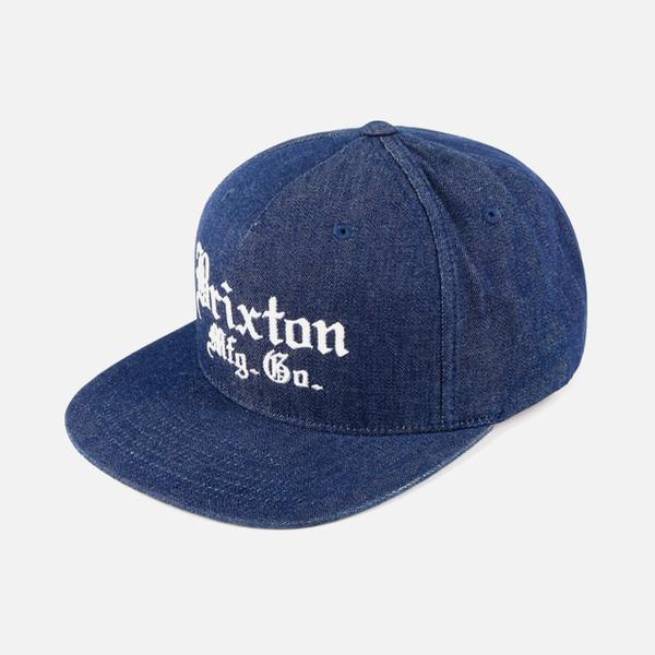 브릭스톤 VINCENT 스냅백 모자 데님