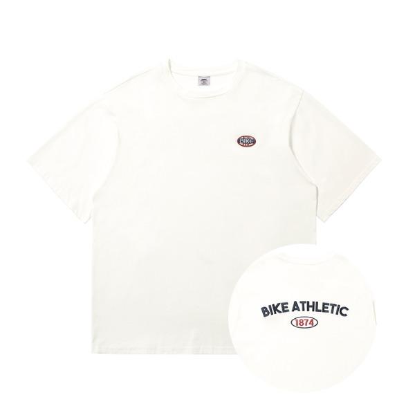 BIKE HERITAGE1874 T SHIRT - WHITE