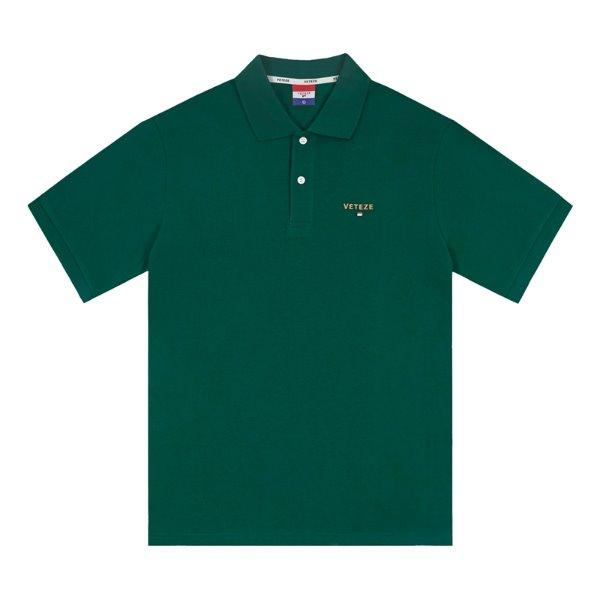 [2020S/S 시즌오프][VETEZE] Basic PK T-Shirts (green)
