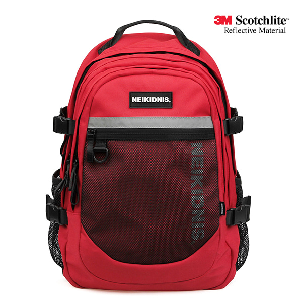 [네이키드니스] ELLIPTIC BACKPACK / RED