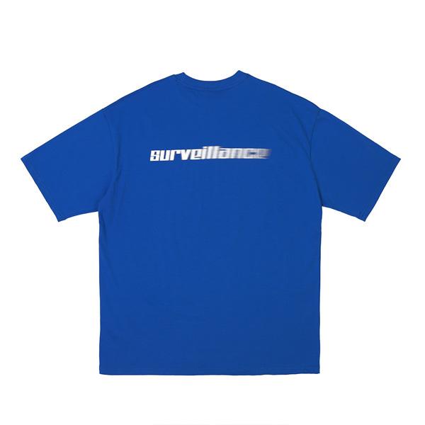 [RDVZ] 알디브이제트 Surveillance T-shirts Blue
