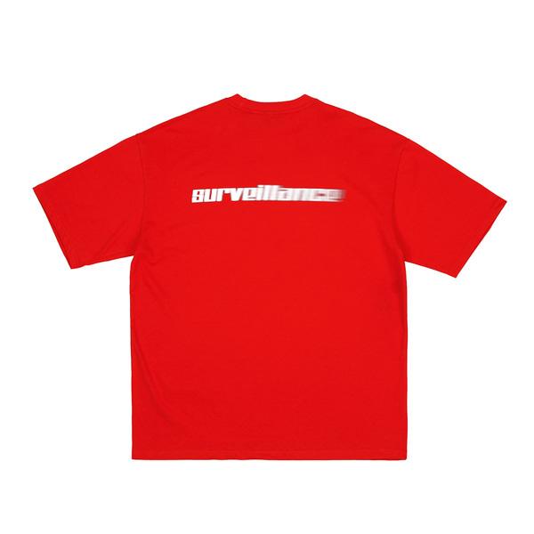 [RDVZ] 알디브이제트 Surveillance T-shirts Red