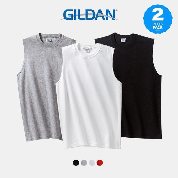 길단 (1&1) 2700 USA핏 슬리브리스 민소매 티셔츠