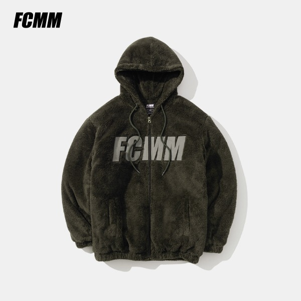[FCMM] 빅로고 보아 플리스 점퍼 - 챠콜브라운 (10월 12일 순차발송)