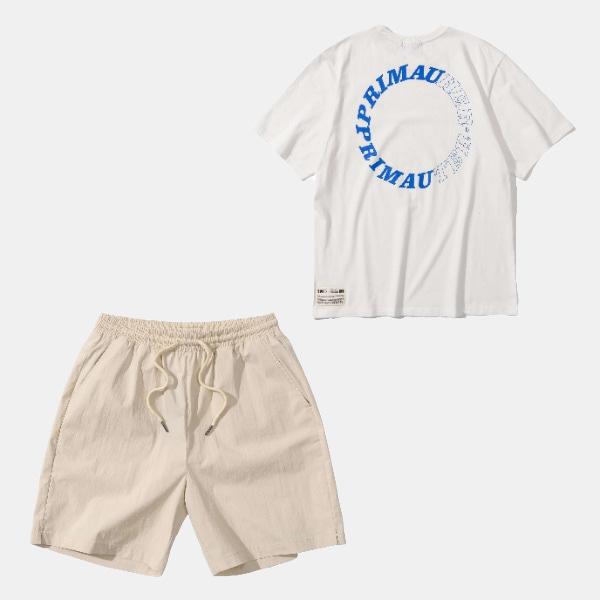 [프리마우터] 레디 투 썸머 팬츠&하프셔츠 패키지