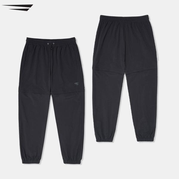 BIKE DOUBLE PERFORMANCE PANTS - BLACK