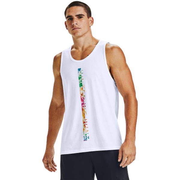 언더아머 남성용 민소매 티셔츠 1355642-100