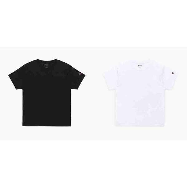 [1+1][시즌얼리버드]챔피온 남여공용 베이직 숏슬리브 티셔츠 T425 기획전