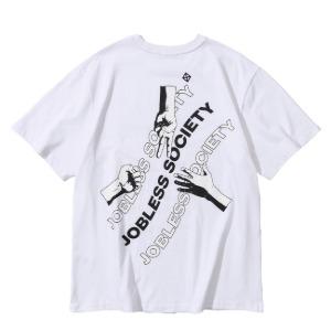 [잡리스 소사이어티] 소사이어티 RSP 하프셔츠 (White)