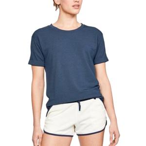 SU_언더아머 여성용 기모반팔 티셔츠 운동복 요가복 슬리브 UA언스톱어블 1324196-411