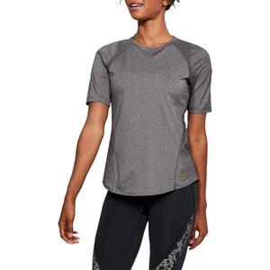 언더아머 여성용 반팔 티셔츠 슬리브 요가복 트레이닝티셔츠 UA퍼페츄얼 1305482-019