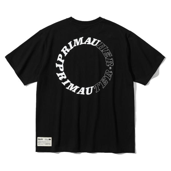 [프리마우터] 라운드허터 ½ 하프셔츠 (black)