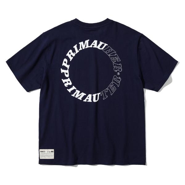 [프리마우터] 라운드허터 ½ 하프셔츠 (classic navy)