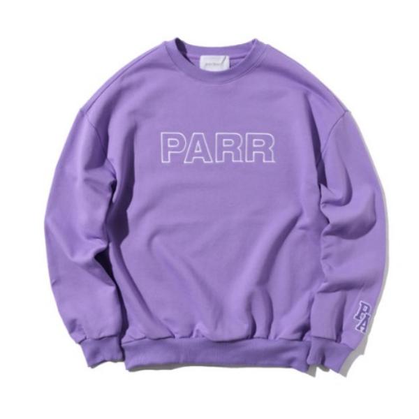 [파르파르] 파르파르 빅로고 맨투맨(Purple)