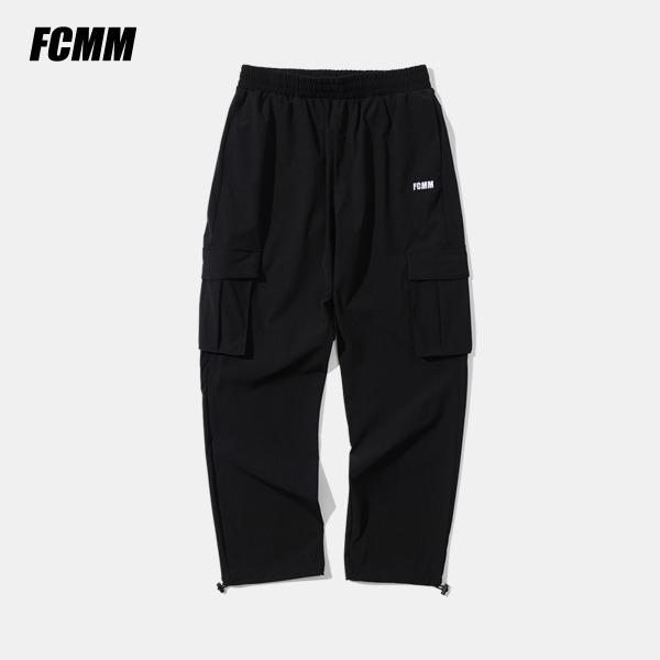 [FCMM] 리커버리 아웃포켓 팬츠 - 블랙