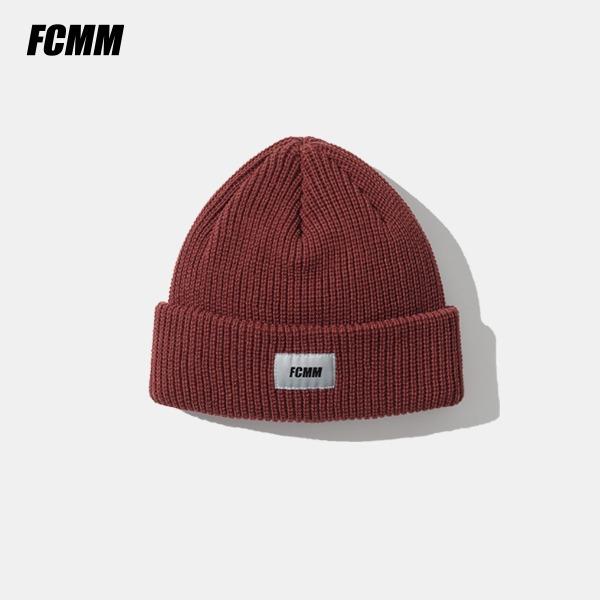 [FCMM] 클래식 숏 비니 - 레드 브라운