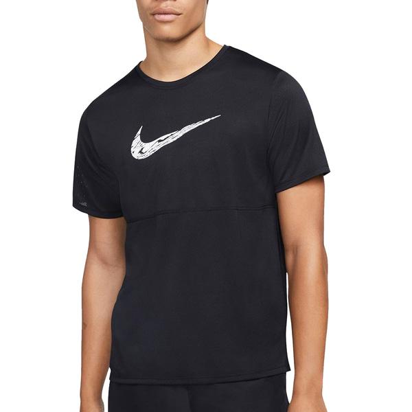 나이키 남성용 티셔츠 브레스러닝 스우시 DA0210-010