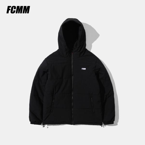 [FCMM] 컴포터블 후디 패딩 점퍼 - 블랙(10월 22일 순차발송)