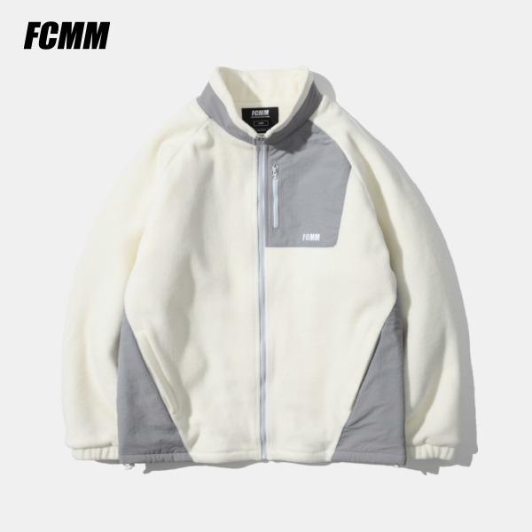 [FCMM] 셰르파 포켓 플리스 자켓 - 아이보리(10월 22일 순차발송)