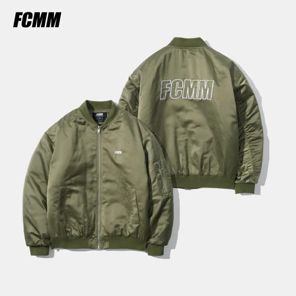 [FCMM] 오버사이즈드 푸퍼 MA-1 자켓 - 카키(10월 22일 순차발송)