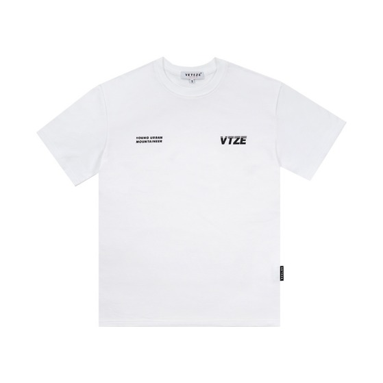 [VETEZE] Urban Half T-Shirts (white)