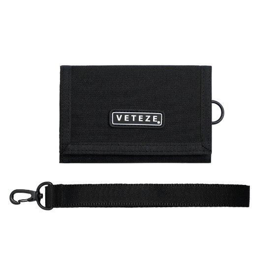 [VETEZE] Line Wallet (black)