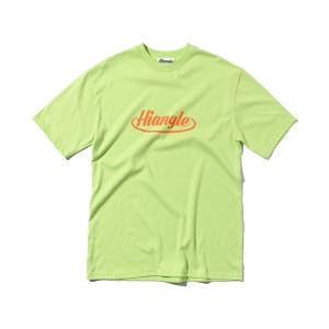 [HIANGLE] 크라운 로고 티셔츠 - 라임