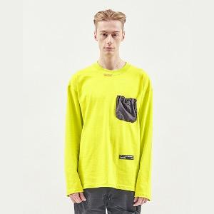 [RDVZ] 알디브이제트 String Pocket Long Sleeve Lime