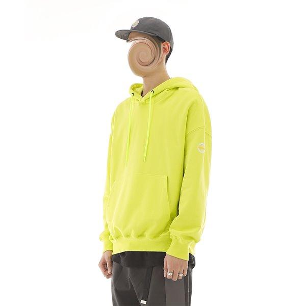 [RDVZ] 알디브이제트 Basic Hoodie Neon