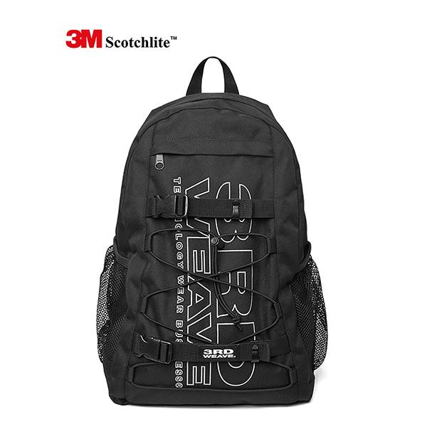 [써드위브] 3M SCOTCHLITE™ BACKPACK / BLACK