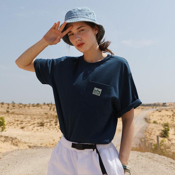 [쿠치샵 단독특가][FLUKE] 플루크 마운틴 패치포켓 티셔츠 FST144 / 4color