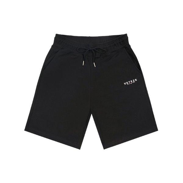 [VETEZE] Signature Logo Shorts (black)