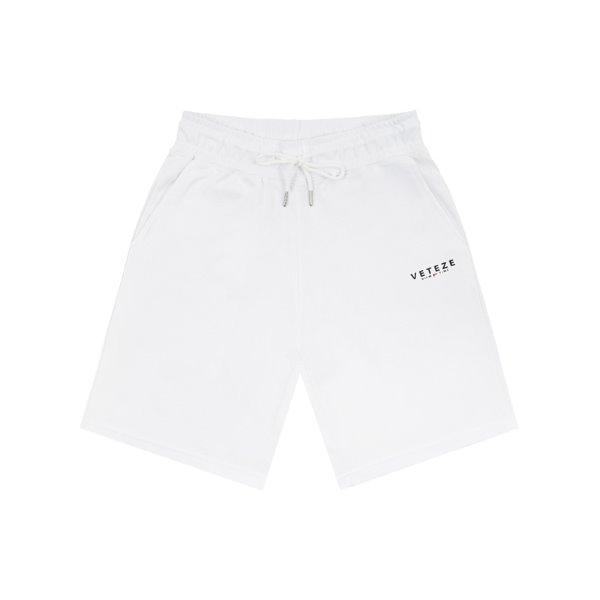 [VETEZE] Signature Logo Shorts (white)