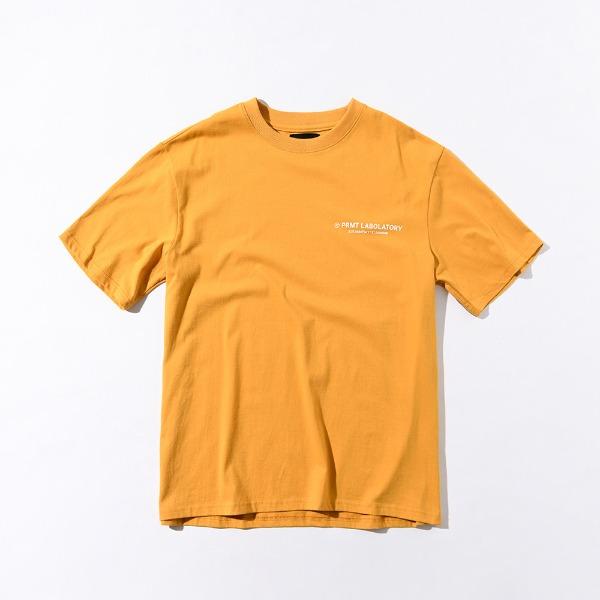 [쿠치샵 창고대방출][프리마우터] PM LOGO ½ Tee (Mustard)