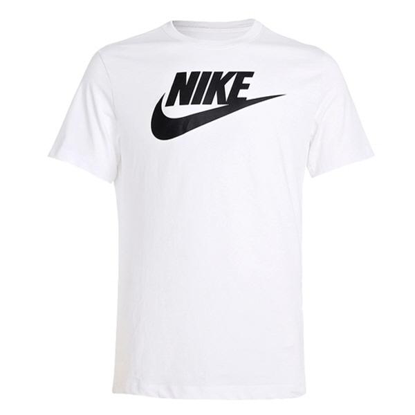 나이키 NSW 퓨추라 반팔 티셔츠 AR5004-101 화이트/블랙