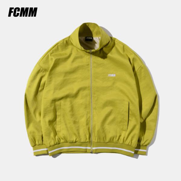 [FCMM] 쿨 레이 라운지 트랙자켓 - 옐로우그린
